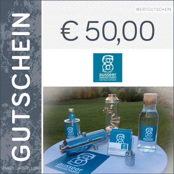50 Euro Gutschein - Ausseer Wassermann