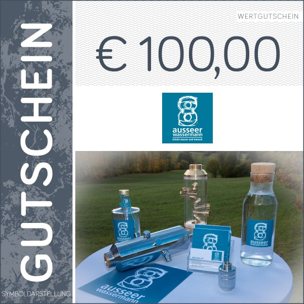 100 Euro Gutschein - Ausseer Wassermann